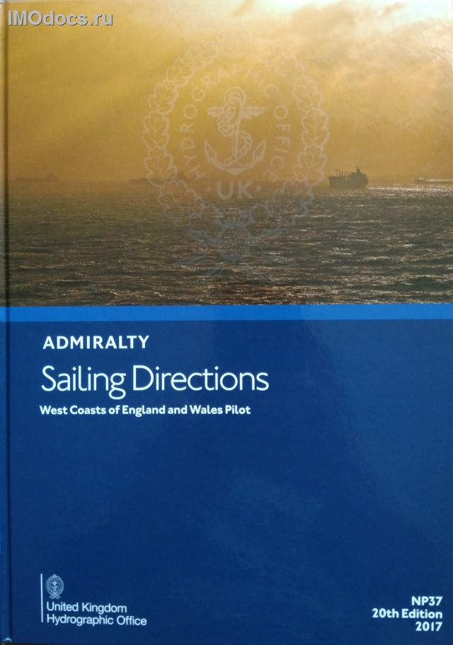 Admiralty Sailing Directions (Pilot Book) - Руководства для плавания (Лоции) Адмиралтейства in english only, NP 1--72 (каждый номер)
