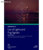 Admiralty List of Lights and Fog Signals - NP84 Volume L: Northern Seas; Coast of Norway North of Latitude 60°55'N, Svalbard, the Faeroes, Iceland, Greenland and Coast of Russia to Bering Strait, 1st Edition, 2021