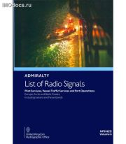 Admiralty List of Radio Signals - NP286(2) Volume 6 Part 2 = Pilot Services, Vessel Traffic Services and Port Operations - Europe, Arctic and Baltic Coasts = Список радиосигналов Британского Адмиралтейства, том 6, 1st Edition 2020
