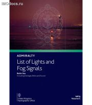 Admiralty List of Lights and Fog Signals - NP76 Volume C: Baltic Sea including Kattegat, Belts and Sound, 1st Edition 2020